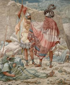 Richard Dadd - Mercy: David Spareth Saul's Life