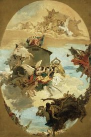 Giovanni Battista Tiepolo - The Miracle of the Holy House of Loreto