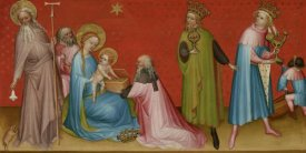Franco Flemish Master - The Adoration of the Magi with Saint Anthony Abbot