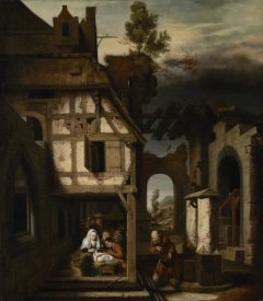 Nicolaes Maes - Adoration of the Shepherds