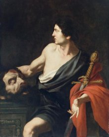 Pietro Novelli - David with the Head of Goliath