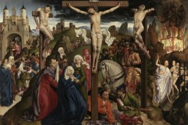 Dreux Budé Master, possibly André d'Ypres - The Crucifixion