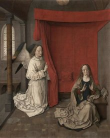 Aelbrecht Bouts - The Annunciation