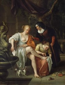 Jan Steen - Bathsheba After the Bath
