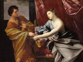 Guido Reni - Joseph and Potiphar's Wife