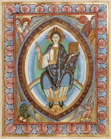 Unknown 11th Century Illuminator - Christ in Majesty