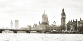 Frank Helena - View of the Houses of Parliament and Westminster Bridge, London (detail)