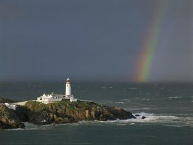 Jean Guichard - Rainbow over Fanad-Head, Ireland