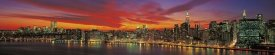 Richard Berenholtz - Sunset over New York