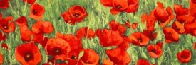 Silvia Mei - Poppy Field (detail)