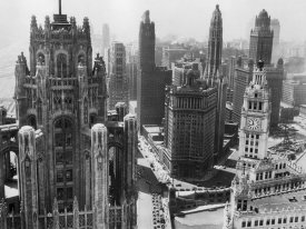 Philip Gendreau - Chicago Skyscrapers in the Early 20th Century