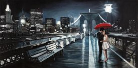 Pierre Benson - Kissing on Brooklyn Bridge