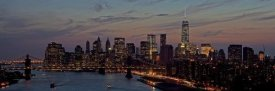 Richard Berenholtz - Lower Manhattan at dusk