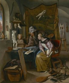 Jan Steen - The Drawing Lesson