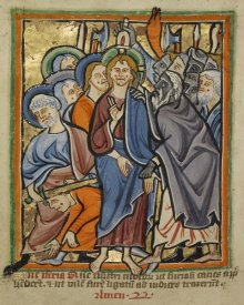 Unknown 12th Century English Illuminator - The Betrayal