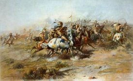 Charles M. Russell - The Custer Fight, 1903