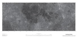 United States Geological Survey - Map of the Moon, Projection