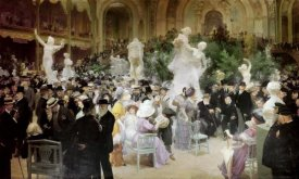 Jules-Alexandre Grun - Friday at the French Artists Salon, 1911