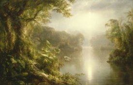 Frederic Edwin Church - El Rio de Luz (The River of Light), 1877