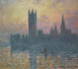 Claude Monet - The Houses of Parliament, Sunset, 1903