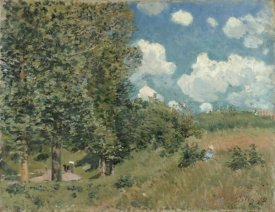 Alfred Sisley - The Road from Versailles to Saint-Germain