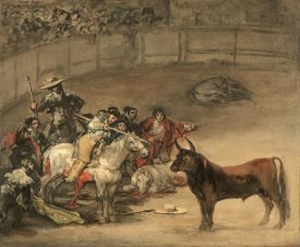 Francisco de Goya - Bullfight, Suerte de Varas