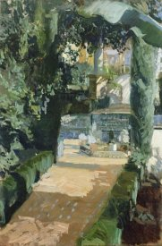 Joaquin Sorolla y Bastida - Court of the Dances, Alcazar, Sevilla
