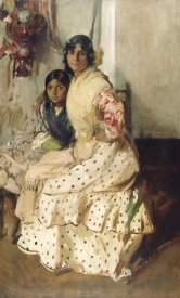 Joaquin Sorolla y Bastida - Pepilla the Gypsy and Her Daughter