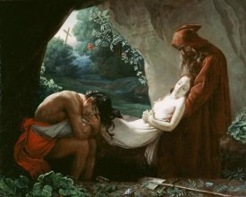 After Anne-Louis Girodet de Roucy-Trioson - Burial of Atala