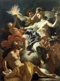 Francesco Solimena - Aurora Taking Leave of Tithonus