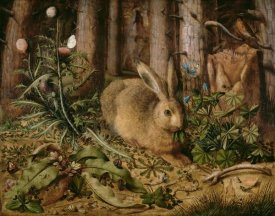 Hans Hoffmann - A Hare in the Forest