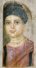 Attributed to the Malibu Painter - Mummy Portrait