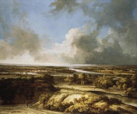 Philips Koninck - A Panoramic Landscape
