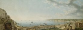 Giovanni Battista Lusieri - A View of the Bay of Naples, Looking Southwest from the Pizzofalcone towards Capo di Posilippo