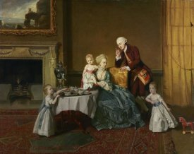 Johann Zoffany - John, Fourteenth Lord Willoughby de Broke, and his Family