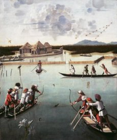 Vittore Carpaccio - Hunting on the Lagoon