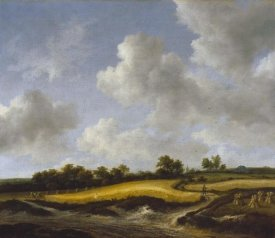 Jacob van Ruisdael - Landscape with a Wheatfield