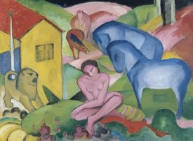Franz Marc - The Dream, 1912