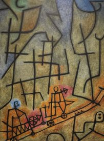 Paul Klee - Conquest of the Mountain, 1939