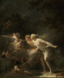 Jean-Honore Fragonard - The Fountain of Love