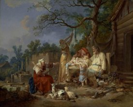 Jean-Baptiste Le Prince - The Russian Cradle