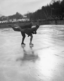 Arthur Rothstein - Winter Sports, Figure Skating. Hanover, New Hampshire, 1936