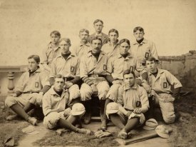 A.G. Spalding Baseball Collection - Dartmouth College, D., 1896