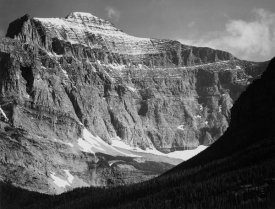 Ansel Adams - View from Going-to-the-Sun Chalet, Glacier National Park - National Parks and Monuments, Montana, 1941