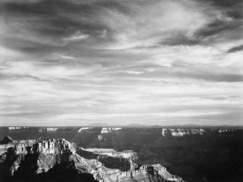 Ansel Adams - Grand Canyon from North Rim - National Parks and Monuments, 1940