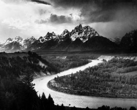 Ansel Adams - The Tetons - Snake River, Grand Teton National Park, Wyoming , 1941