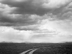 Ansel Adams - Roadway near Grand Teton National Park, Wyoming, 1941