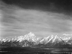 Ansel Adams - Tetons from Signal Mountain, Grand Teton National Park, Wyoming, 1941