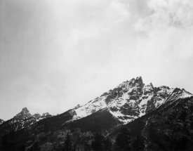 Ansel Adams - Snow covered peak in Grand Teton National Park, Wyoming, 1941