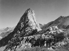 Ansel Adams - Fin Dome, Kings River Canyon,  proposed as a national park, California, 1936